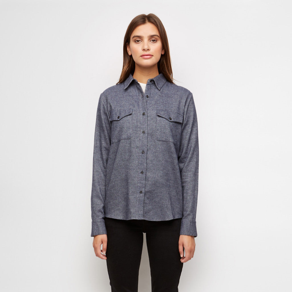 Yak Twill Work Shirt - Denim