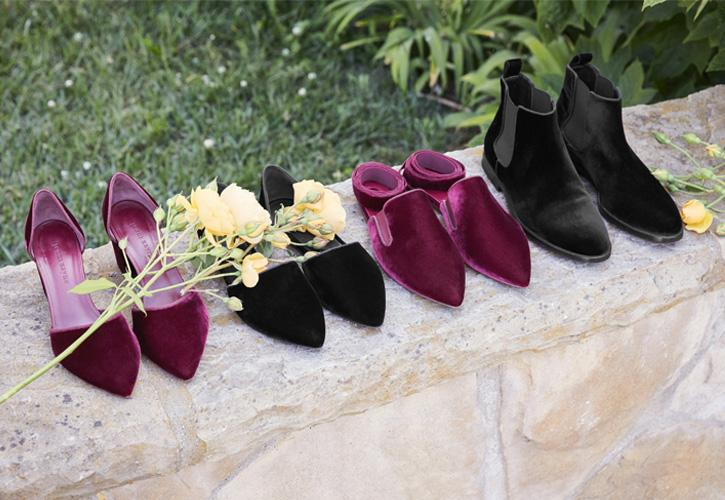 Fall's Most Luxe Texture | Velvet Shoes
