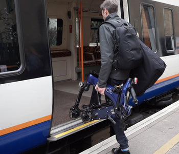 Travelling By Train With The Gocycle G3 Electric Bike