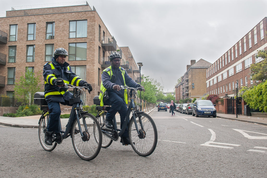 Kensington & Chelsea traffic wardens rate their QWIC electric bikes