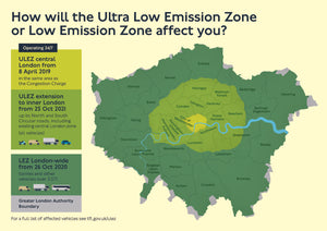ULEZ - Ultra Low Emissions Zone - Everything Motorcycles and Scooter Riders Need to Know