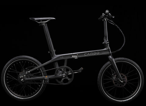 9527d6132df Another folding bike that's made from Carbon Fibre, the CARBO was funded on  crowdfunding platform IndieGoGo last year. It was quite successful too, ...