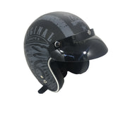 Viper-Slim Open Face Helmet RS-05-Moped Helmet-XS - 54cm-Route 66-urban.ebikes