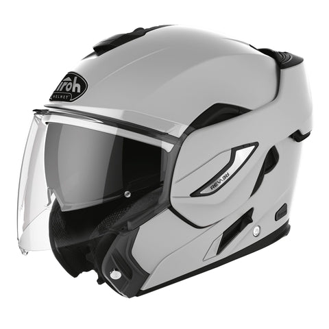 Airoh-2020 Airoh Rev19 Flip Helmet - Three Colours-Moped Helmet-Concrete Grey Gloss-S-urban.ebikes