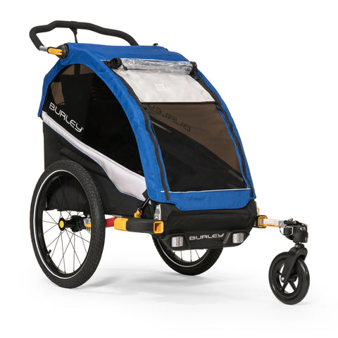 Burley-D'Lite Single Kids Performance Bike Trailer Stroller-Trailer-urban.ebikes