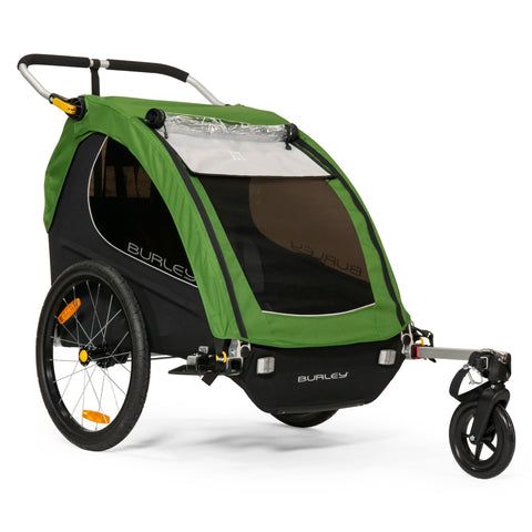 Burley-Encore Sport Double Kids Bike Trailer Stroller-Trailer-urban.ebikes