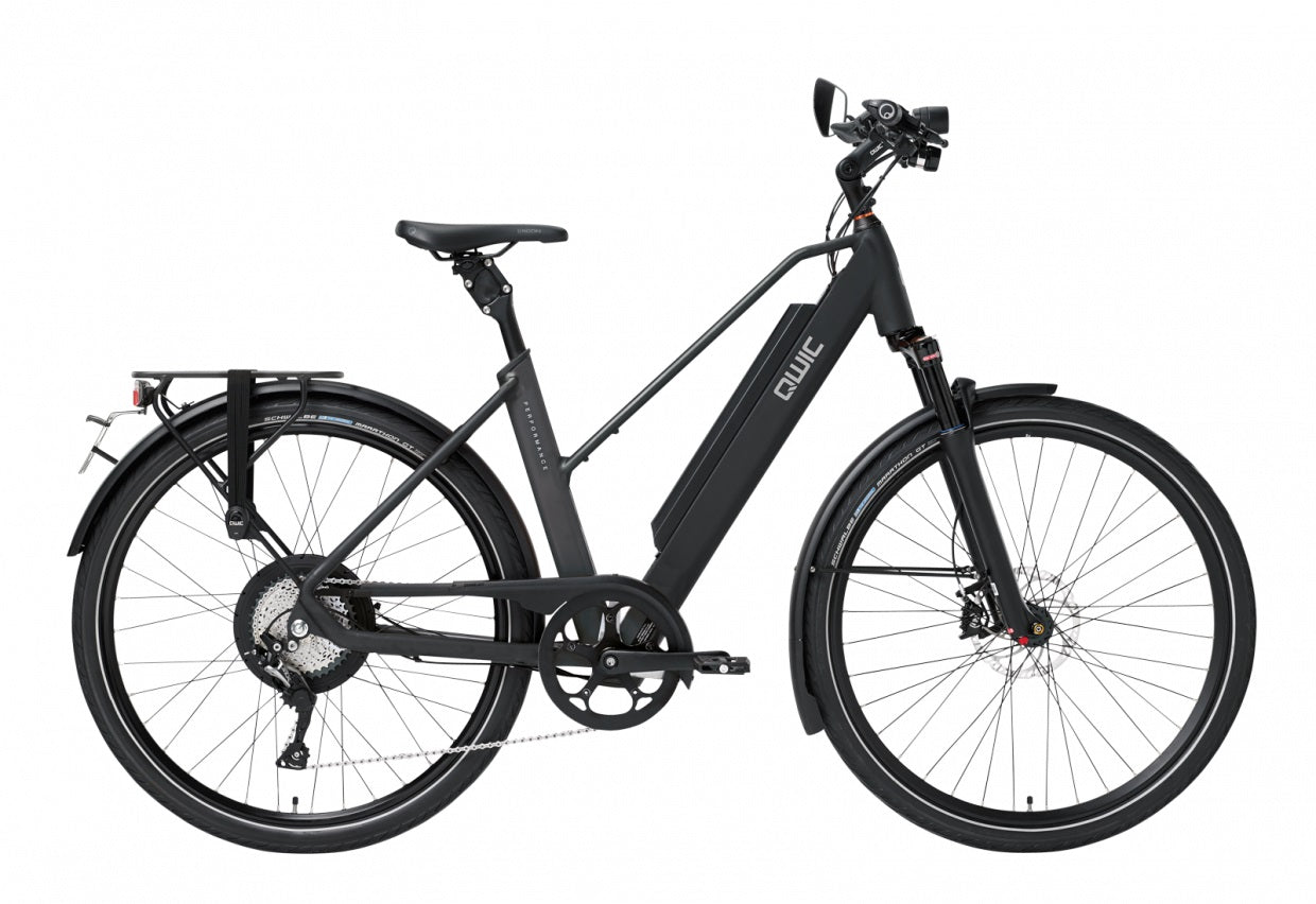 QWIC-RD11 Speed Performance 28mph-Speed Pedelec-Matt Black Comfort-Medium 48cm-725Wh-urban.ebikes