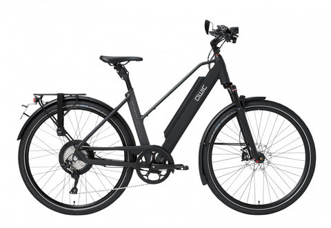 QWIC-RD11 Speed Performance 28mph-Speed Pedelec-Matt Black Comfort-Medium 48cm-525Wh-urban.ebikes
