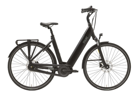 QWIC-MN7 Premium I - In Stock-Classic ebike-Matt Black Comfort-Medium 48cm-400Wh-urban.ebikes