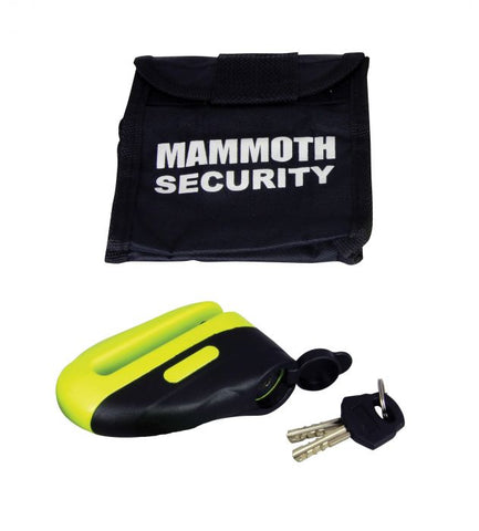 Mammoth-Mammoth Yellow Blast Disc Lock-Locks & Security-urban.ebikes