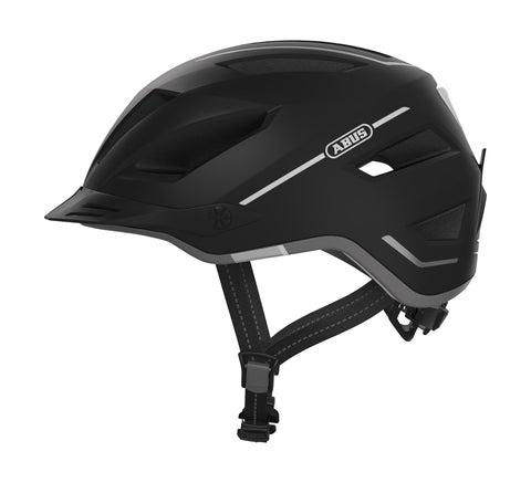 Abus-Electric Bike Helmet - Pedelec 2.0-Helmet-Medium 52 - 57cm-Black-urban.ebikes