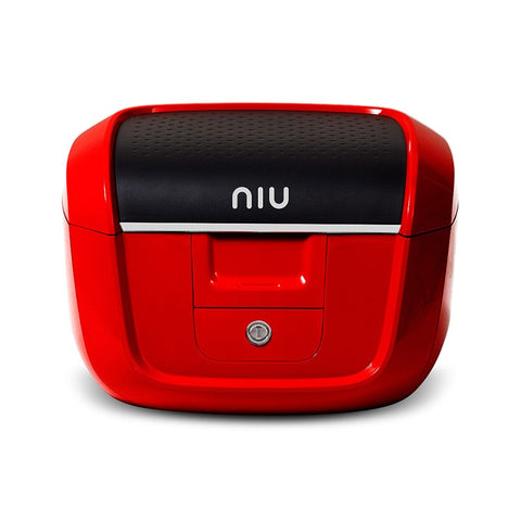 NIU-M+ M Series Helmet Box-Top Box-Red-urban.ebikes