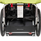 Burley-Minnow Single Kids Bicycle Trailer-Trailer-urban.ebikes