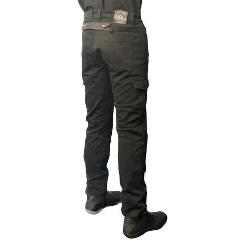Viper-Aramid Cargo Black Jean Trousers CE Appoved-Clothing-urban.ebikes