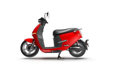 Horwin-EK3-Electric Moped-Red-urban.ebikes