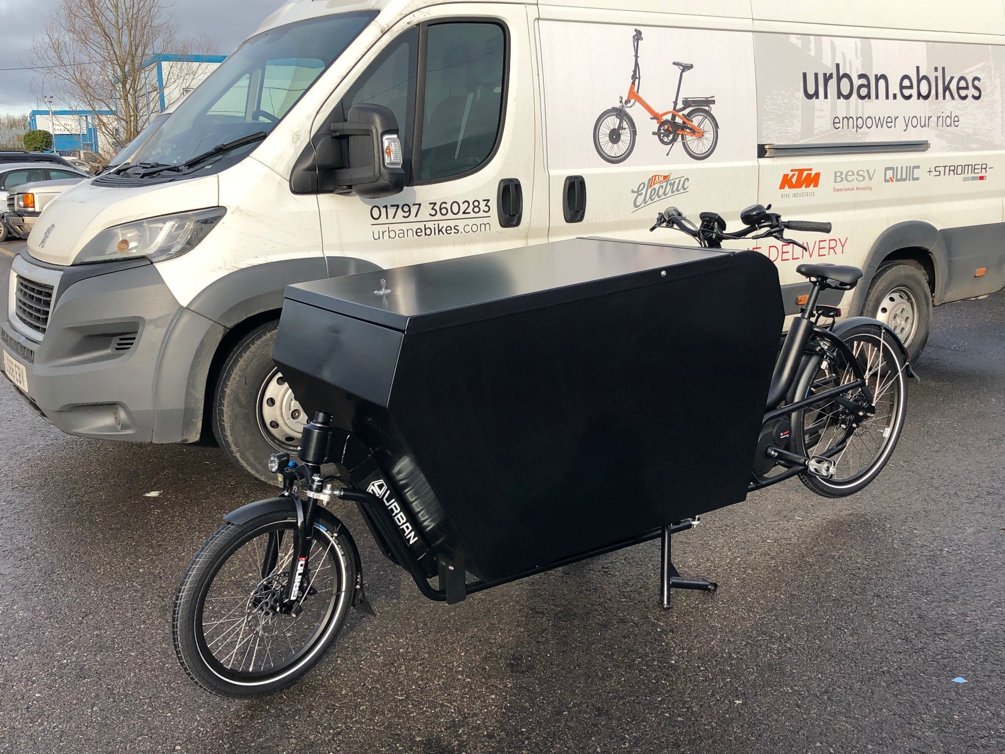 Urban Arrow-Cargo XL-Cargo eBike-urban.ebikes