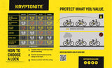 Kryptonite-New York Standard Nyl Lock With Flexframe Bracket Sold Secure Gold-Locks & Security-urban.ebikes