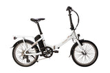 Raleigh-Stow-E-Way Folding - 2019 Model-Folding ebike-White-urban.ebikes