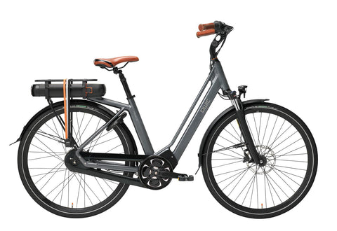 QWIC-Premium MN8 Tour Step Through-Classic ebike-Medium / Antracite Grey-420Wh-urban.ebikes