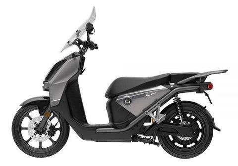 Super Soco-CPx Electric Scooter-Electric Moped-Silver-Dual Battery-urban.ebikes