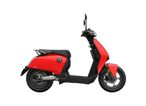 Super Soco-CU X-Electric Scooter-Red-urban.ebikes