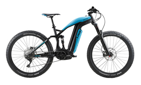 BESV TRB1 AM Electric Mountain Bike-Mountain Ebike-BESV-Blue-urban.ebikes