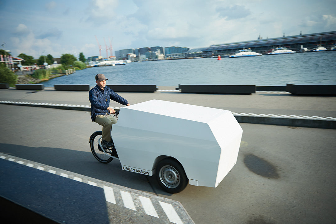 Urban Arrow-Tender-Cargo eBike-Tender 1000-Post and Parcel-urban.ebikes