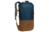 Vaude-Citygo 14-Luggage-Blue and Brown-urban.ebikes