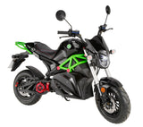 Artisan-ev0 - Devil Red-Electric Moped-Gremlin Green-urban.ebikes
