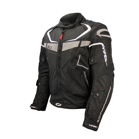Viper-Axis 2.0 Jacket CE Ready-Clothing-XS/36-Black-urban.ebikes