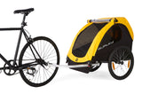 Burley-Bee Double Kids Bicycle Trailer-Trailer-urban.ebikes
