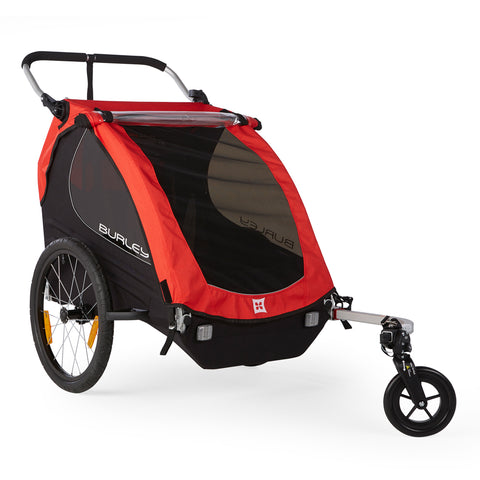 Burley-Honeybee Double Kids Seat Bike Trailer Stroller-Trailer-urban.ebikes