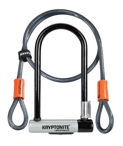 Kryptonite-Kryptolok U-Lock w/ 4ft Kryptoflex Cable-Locks & Security-urban.ebikes