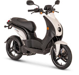 Peugeot-E-Ludix-Electric Moped-White-urban.ebikes