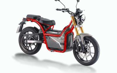 Rieju-Nuuk Urban - 30mph-Electric Moped-Red-Urban (Road Tyres)-urban.ebikes