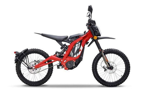 Sur-Ron-LBX LightBee-Electric Dirt Bike-Road-Red-urban.ebikes