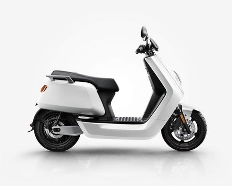 NIU-NQi Sport Electric Scooter-Electric Scooter-Gloss - White-urban.ebikes