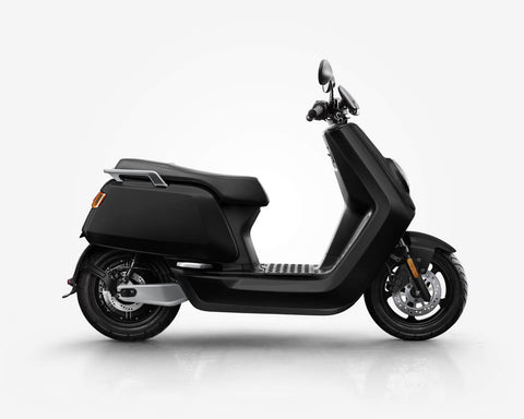NIU-NQi Sport Electric Scooter-Electric Scooter-Gloss - Black-urban.ebikes