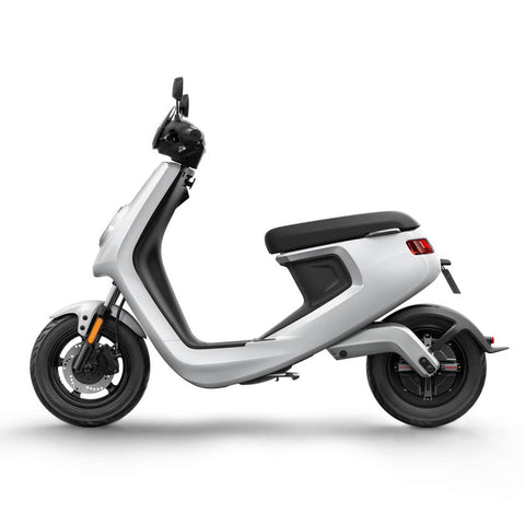 M Series-Electric Scooter-NIU-Gloss - White-urban.ebikes