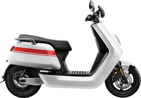 NIU-NQiGTS Pro - 45mph-Electric Scooter-White / Red-urban.ebikes