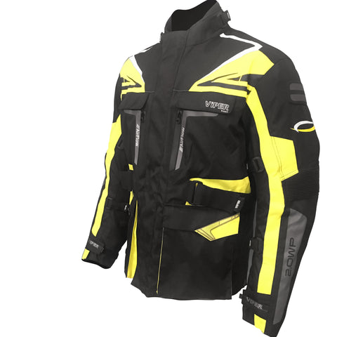 Viper-Python 5 Jacket CE Ready-Clothing-XS/36-Black/Fluro-urban.ebikes