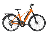 QWIC-RD11 Performance 15.5mph-Classic ebike-Dutch Orange Comfort-Medium 48cm-525Wh-urban.ebikes