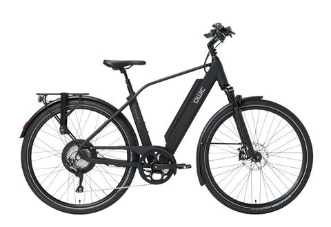 QWIC-RD11 Performance 15.5mph-Classic ebike-Matt Black Sport-Medium 48cm-525Wh-urban.ebikes