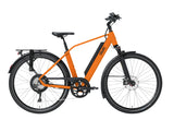 QWIC-RD11 Performance 15.5mph-Classic ebike-Dutch Orange Sport-Medium 48cm-525Wh-urban.ebikes
