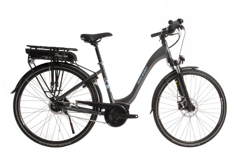 "Motus Tour-Classic ebike-Raleigh-Small - 46cm - 26"" Wheel-Grey-Comfort-urban.ebikes"