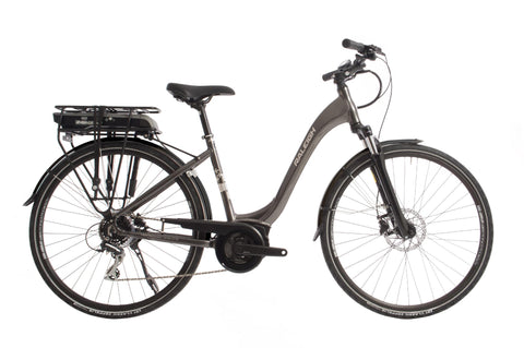"Motus-Classic ebike-Raleigh-Small - 46cm - 26"" Wheel-Grey-Comfort-urban.ebikes"