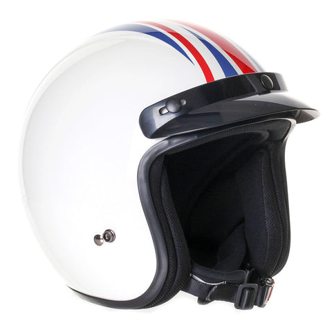Stealth-Retro Open Face Motorcycle Helmet-Moped Helmet-XS 53-54cm-Union Jack-urban.ebikes