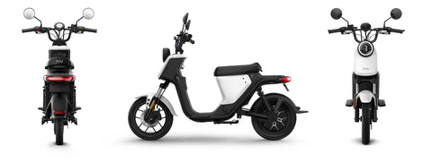NIU-U Pro-Electric Scooter-White-urban.ebikes