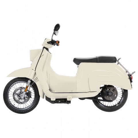 Govecs-Govecs Schwalbe-Electric Scooter-White-Standard - Grey-30mph-urban.ebikes