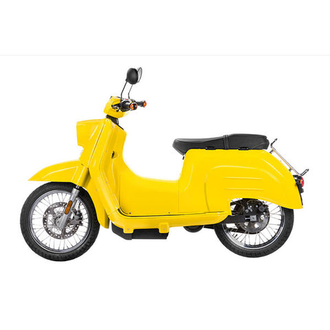 Govecs-Govecs Schwalbe-Electric Scooter-Yellow-Standard - Grey-30mph-urban.ebikes